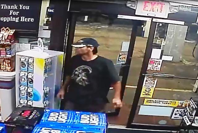 Photo of armed robbery suspect (Credit: St. Louis County Police Department)