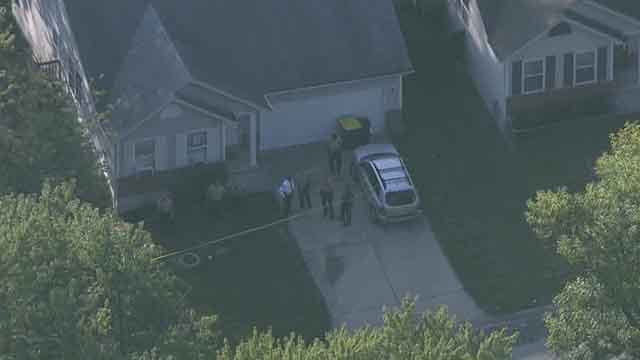 Police are investigating a double shooting in the Castle Point neighborhood. (Credit: KMOV).