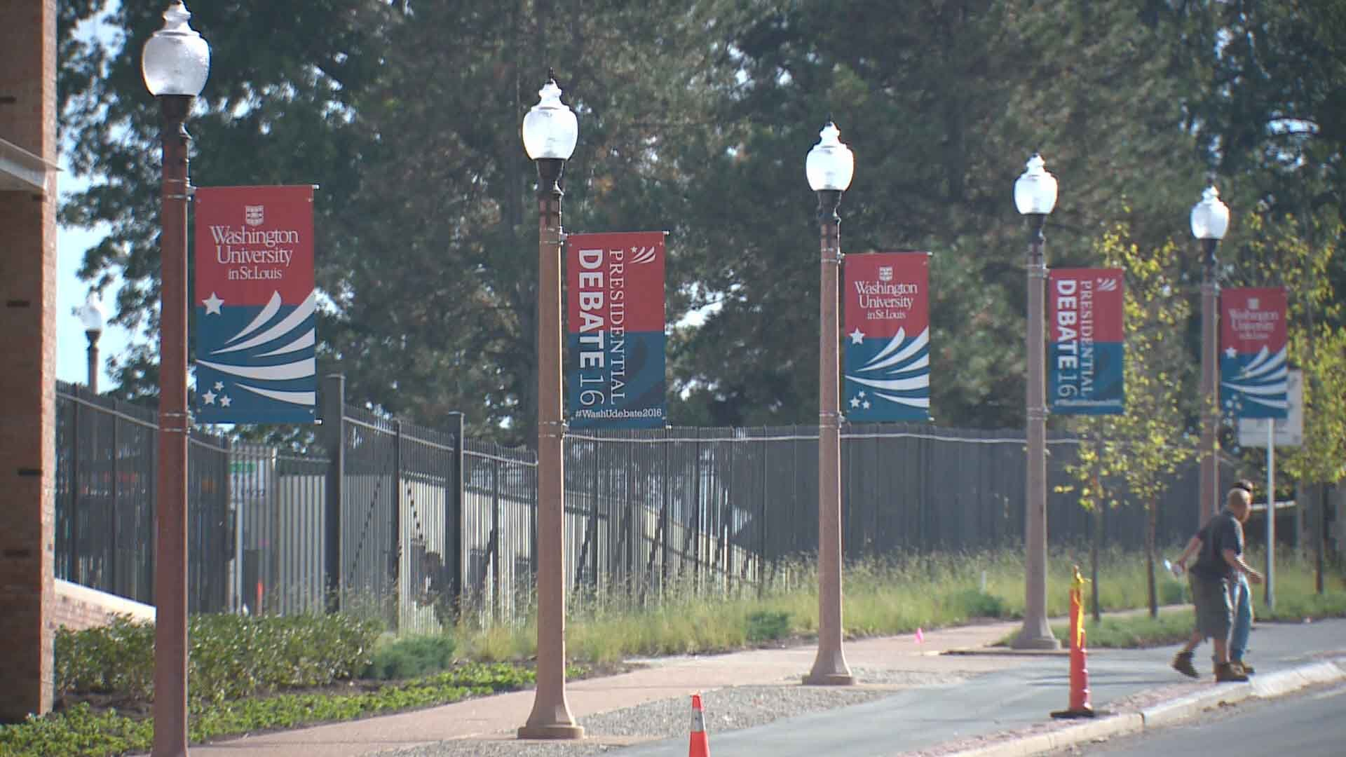 Washington University prepares to host debate (KMOV)
