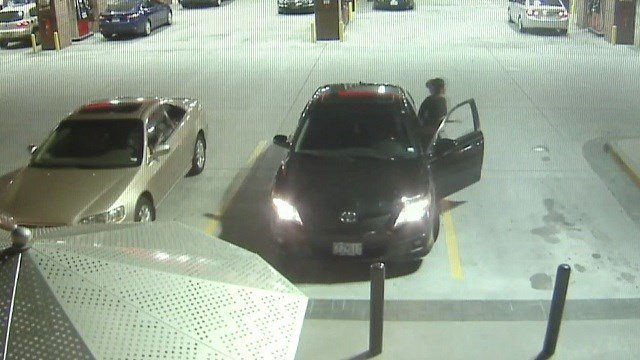 A car was stolen from a QT in just seconds (KMOV)