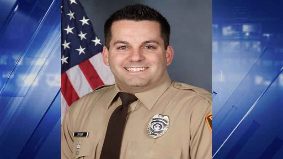 Officer Blake Snyder was shot and killed while on duty on October 6 (KMOV)