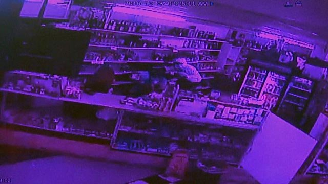 Surveillance video from the Tru Buy Convenience Store (Credit: Tru Buy)