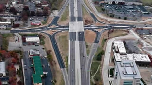 MoDot closing Fifth Street at I-70 starting Monday, October 10. (Credit: Missouri Department of Transportation)