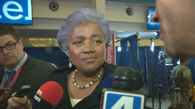 Democratic political strategist Donna Brazile offers her thoughts on Trump before the debate.