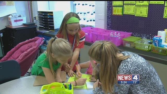 Breakout EDU is a new interactive way for students to learn. Credit: KMOV