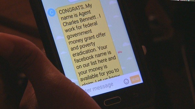 A woman tried to turn the tables on the crooks over a Facebook scheme (Credit: KMOV).