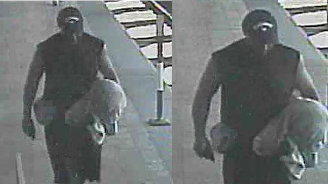 The suspect allegedly stole from the PNC Bank in Belleville on September 21 (Credit: Belleville Police Department)