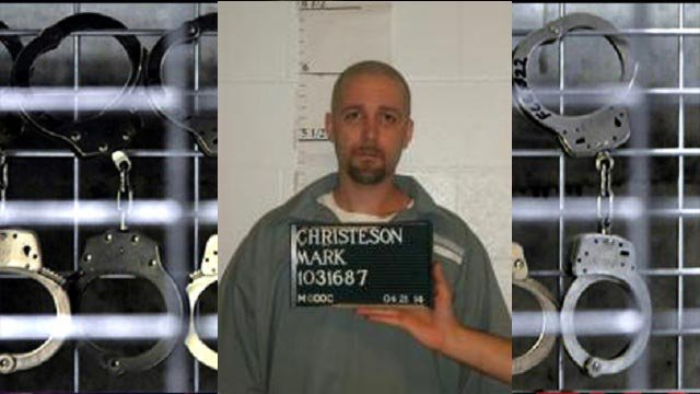 Mark Christeson will be executed on Jan. 31 in Missouri (Credit: KMOV)