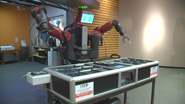 St. Louis area children have a new way to learn about science and technology through a robot at the St. Louis Science Center's latest exhibit (Credit: KMOV).