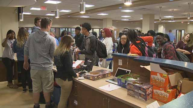 Daily Grind Coffee Shop at Belleville East High School. Credit: KMOV