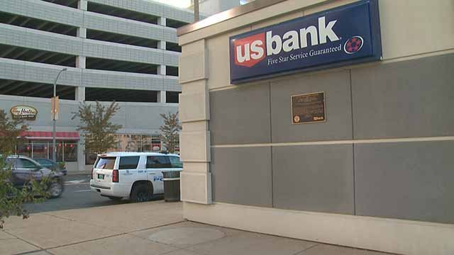 A man robbed the US Bank on Tucker near Olive late Monday afternoon, police believe. Credit: KMOV