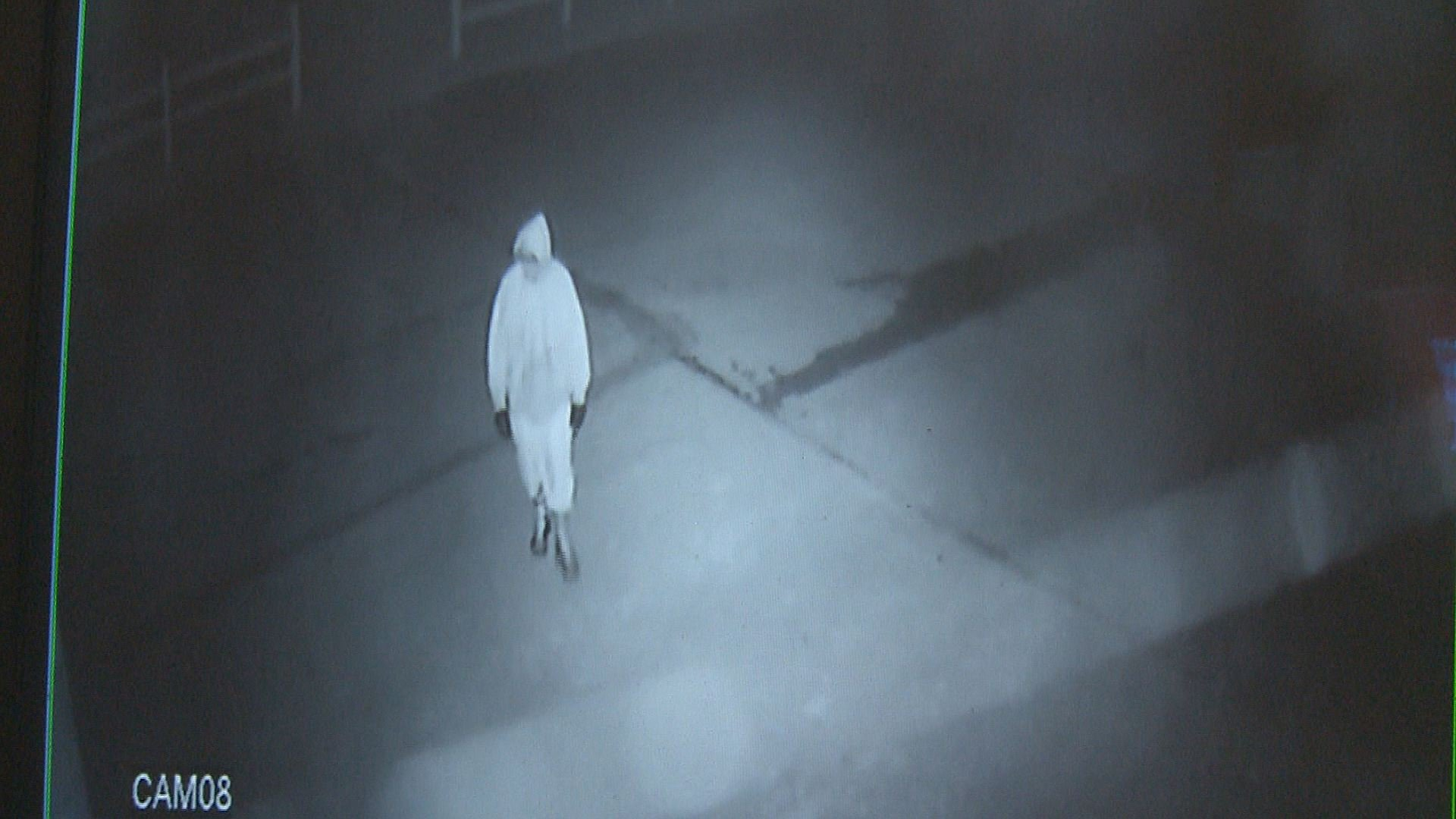 Surveillance video of 1 of 3 thieves who stole an ATM from Stuckmeyers Farm Market and Greenhouse near Highway 141 and Highway 21