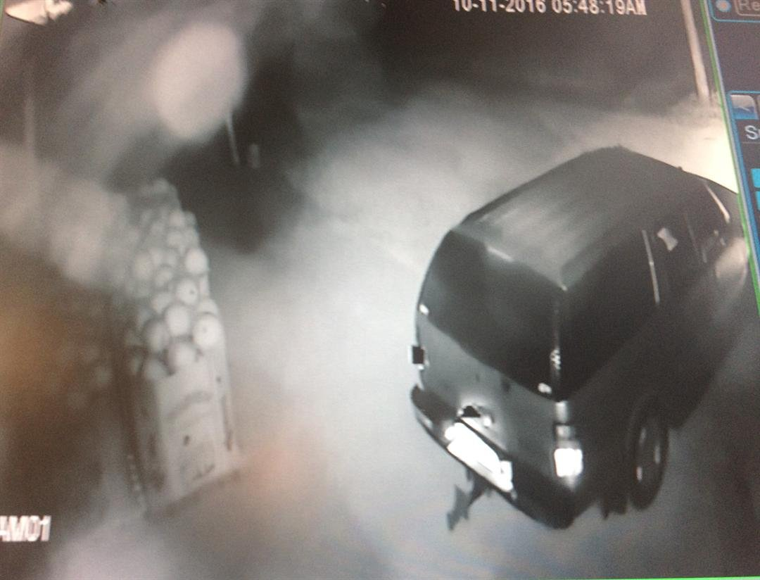 Surveillance video vehicle driven by thieves who stole an ATM from Stuckmeyers Farm Market and Greenhouse near Highway 141 and Highway 21