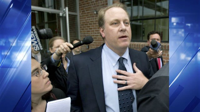 2012 File photo of Curt Schilling (AP Photo/Steven Senne, File)