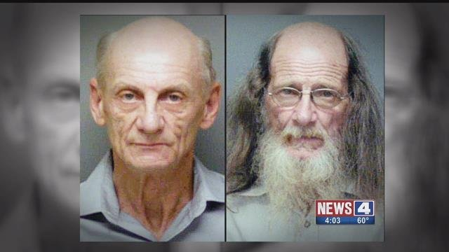 Charles King and Alvin Hunter are accused of sexually assaulting a women who was incapacitated from drugs or alcohol. The two allegedly taped the incident, which wasn't discovered until eight years later. Credit: Franklin County Sheriff