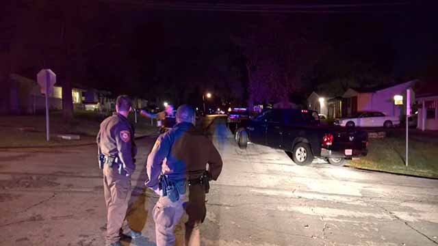 A police officer suffered non-life threatening injuries when the officer was shot in Castle Point Thursday night. Credit: KMOV