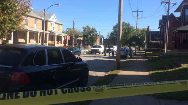 Police are investigating a shooting in the Greater Ville neighborhood. (Credit: KMOV).