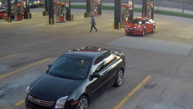 Surveillance photo from QuikTrip on Zumbehl Sunday (Credit: St. Charles County Police)