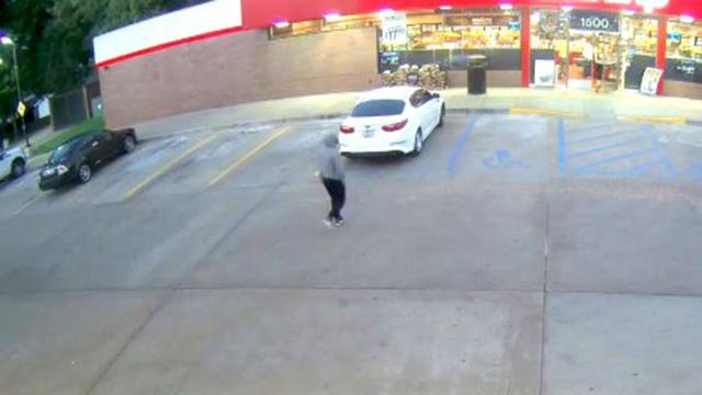 Surveillance photo of suspect (Credit: St. Charles Police)