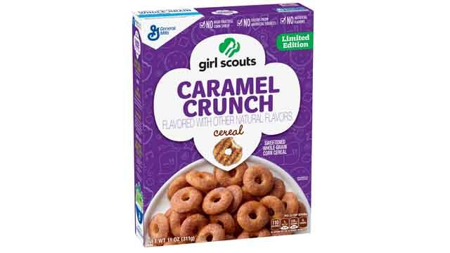 The Girl Scouts will be releasing two cereal flavors in 2017. (Credit: KMOV).