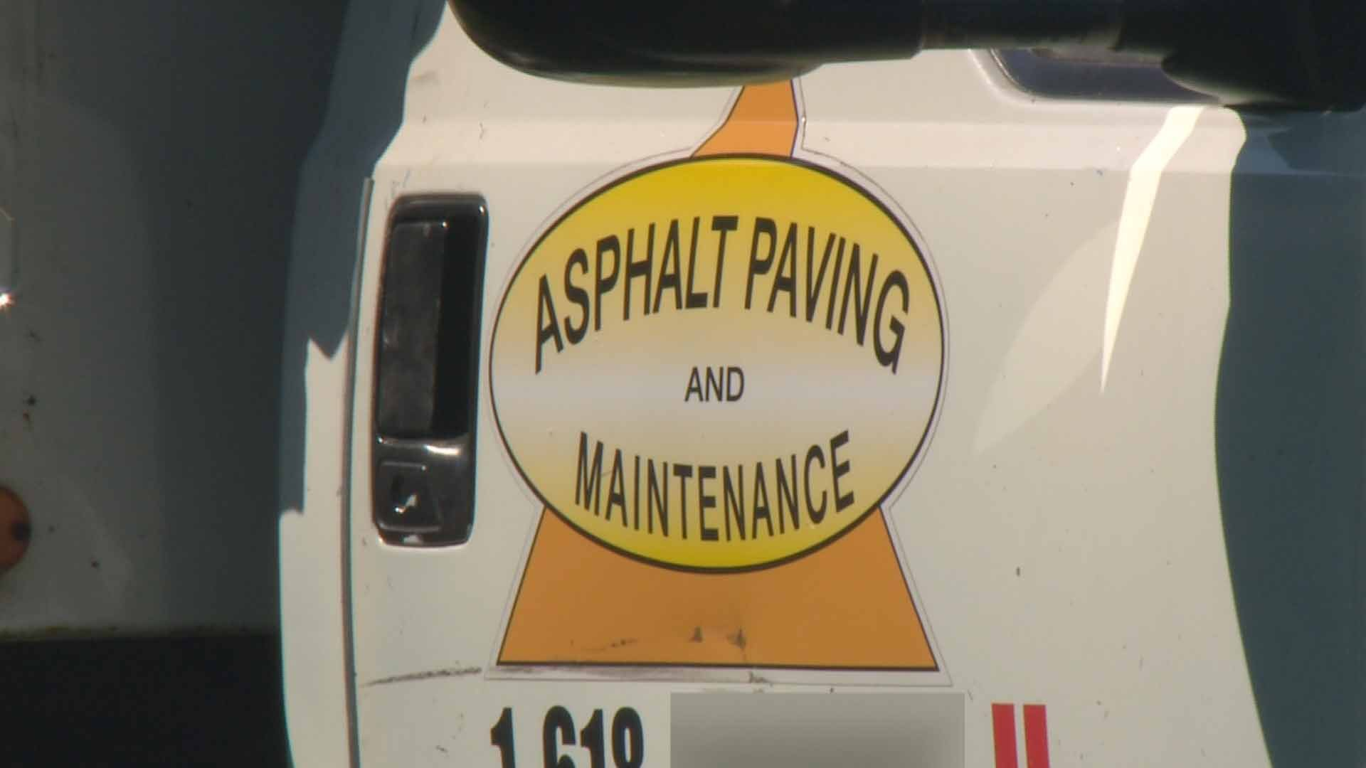 Customers of Asphalt Paving & Maintenance are demanding a refund after they said the contractor did a poor job forcing them to have even more work done. Credit: KMOV