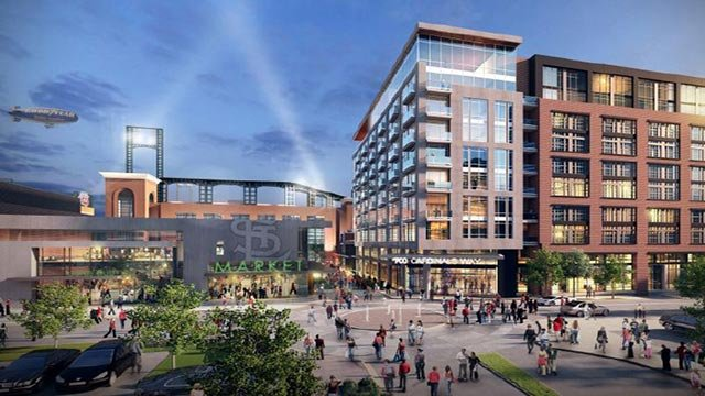 Rendering of Ballpark Village Phase 2 (Credit: Ballpark Village)