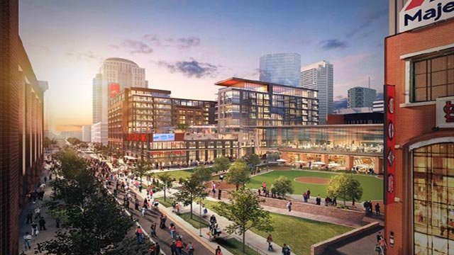 Rendering of Ballpark Village Phase 2 (Credit: Ballpark Village)