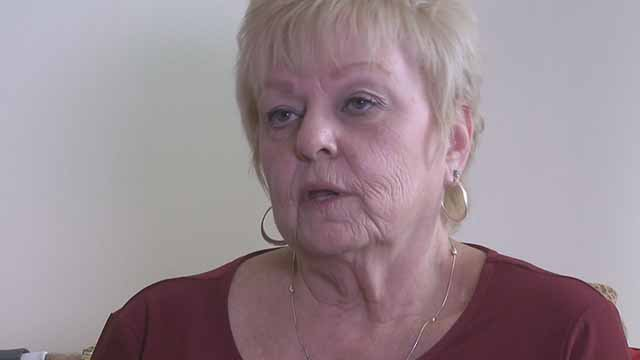 Deborah Giannecchini was awarded more than $70 million in a lawsuit against Johnson and Johnson. She suffers from ovarian cancer and used powder made by Johnson and Johnson. Credit: KMOV