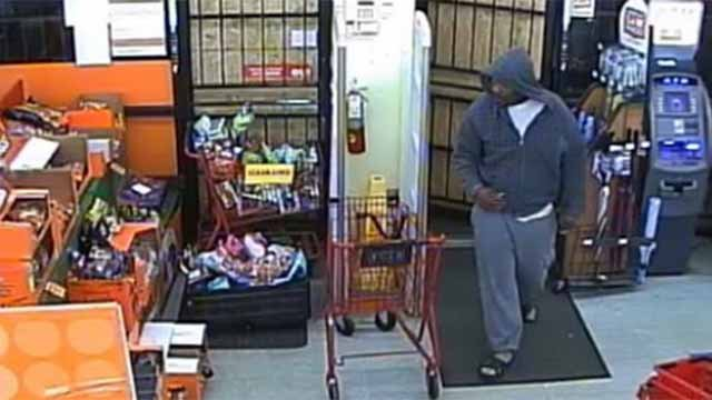 Police believe this man robbed a Family Dollar store in Belleville Saturday. Credit: Belleville PD