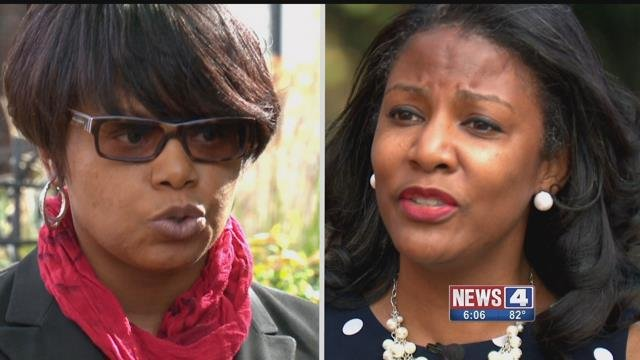 State Senator Jamilah Nasheed and St. Louis Treasurer Tishaura Jones are running for reelection. Credit: KMOV