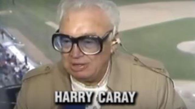 Harry Caray (Credit: Budweiser)