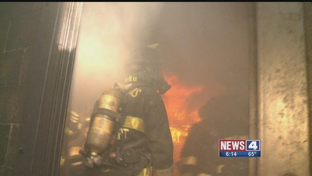 St. Louis firefighters demonstrated Thursday what happens when a home doesn't have working smoke detectors. Credit: KMOV
