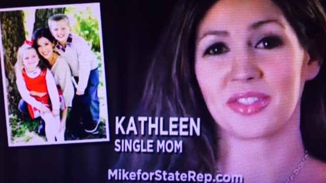 Similar ads put on by a conservative PAC is targeting different House districts in Illinois. Credit: KMOV