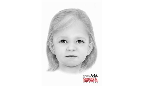 A facial reconstruction of Jane Doe West Alton (Credit: National Center for Missing & Exploited Children)