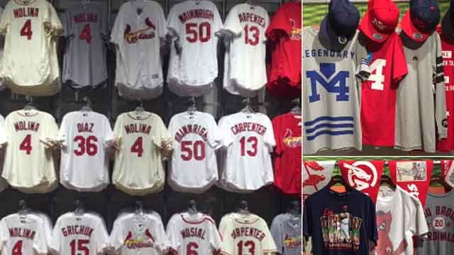 Busch Stadium Team store is holding a big sale for first responders this weekend. (Credit: KMOV)