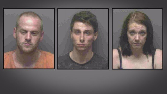 Blake Schindler, Timothy Womish & Whitney Robbins are charged in the death of Ken Allen of Franklin County.