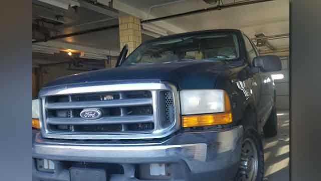 Major Case is looking for anyone with information on this truck stolen November 1 in the City of St. Louis. (Credit: KMOV).