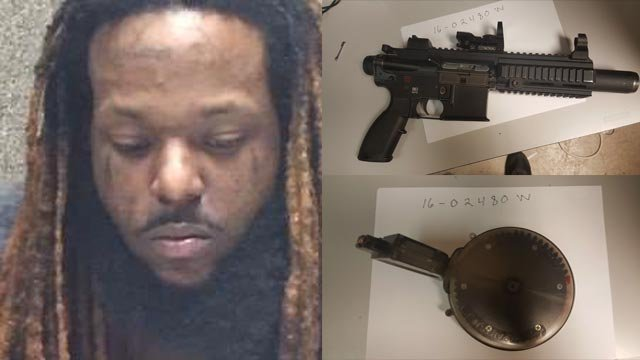 Dajuan Kirkland is accused of unlawful possession of a firearm and felony resisting arrest (Credit: St. Louis County Police Department)