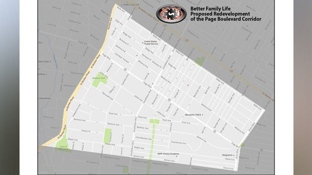 Better Family Life announced they are re-devloping 100 homes in north St. Louis (Credit: KMOV).