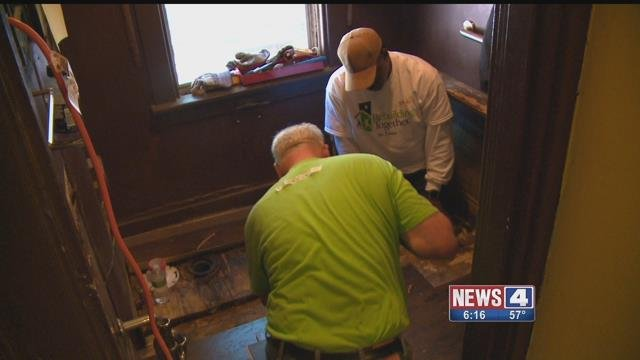 Rebuilding Together helps St. Louis area homeowners who can't afford home repairs or are physically limited. Credit: KMOV