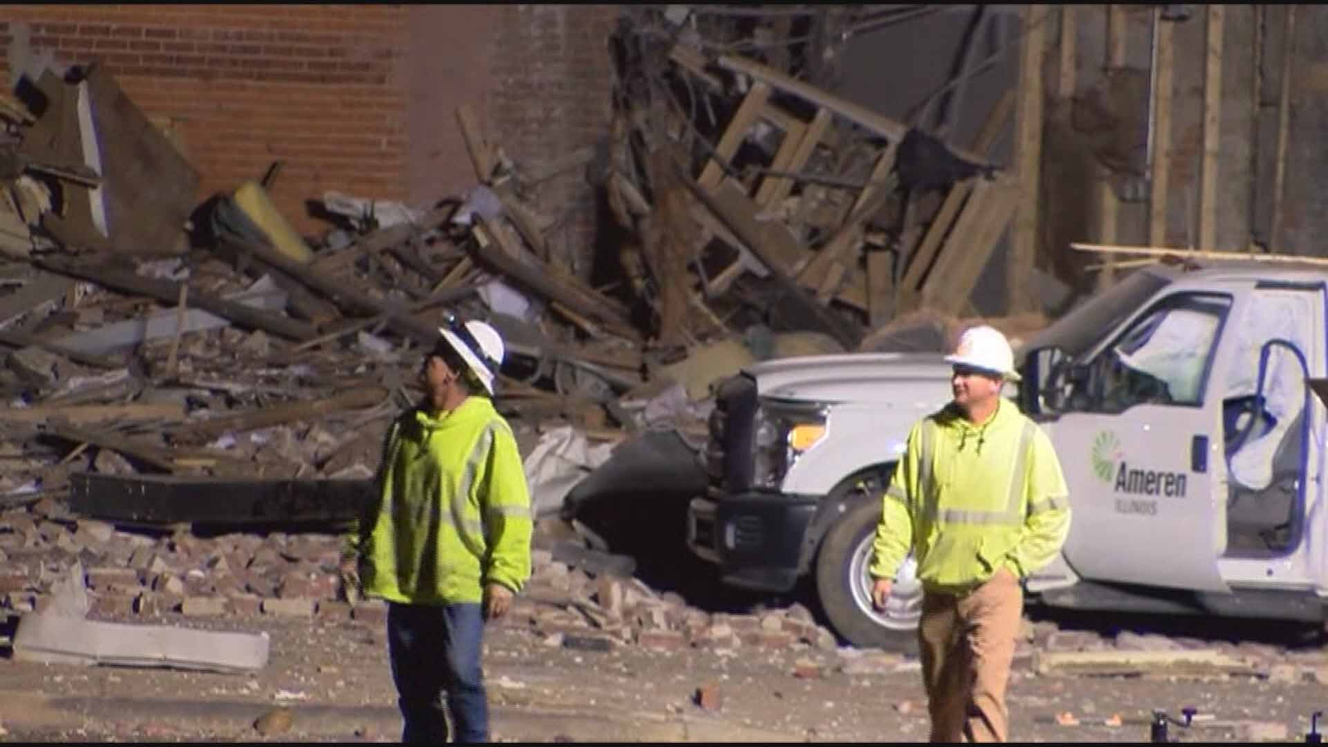 One person died after an explosion in Canton, Illinois. Credit: KMOV