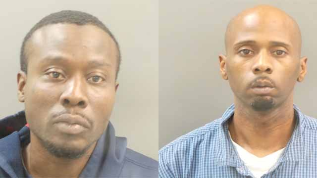 39-year-old Terry Williams and 35-year-old Anthony Terrell Caruthers robbed a Boost Mobile store and tied up the hands of a store manager. Credit: SLMPD