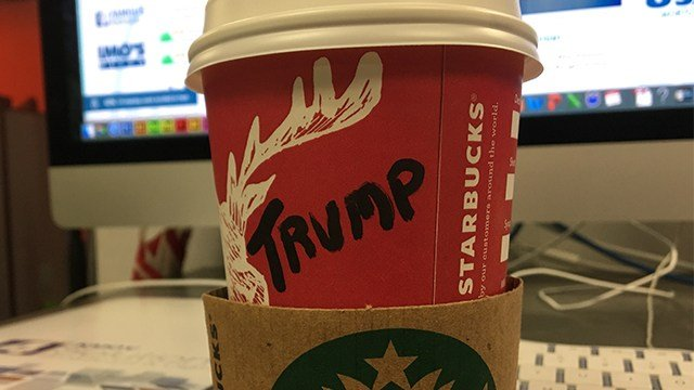 #TrumpCup is a political protest supported by Trump supporters. (Credit: KMOV)