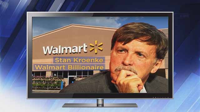 """The union rep[resenting employees at Schnucks, Dierbergs, and Shop 'n Save is running anti-Stan Kroenke ad during the holiday season. Credit"""" KMOV"""