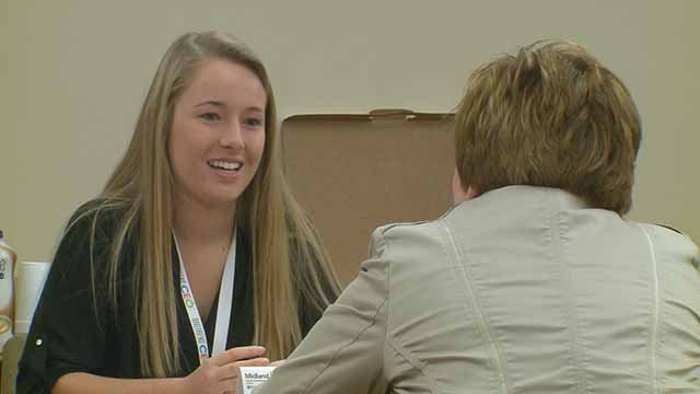 The Riverbend CEO Program allows Alton High School students to learn from business professionals on how running a business works. Credit: KMOV