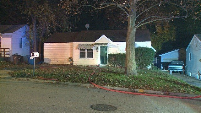 Police are investigating a house fire that occurred early Friday morning. (Credit: KMOV)