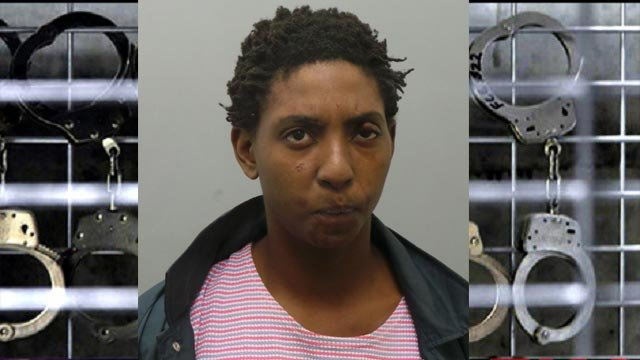 Kiauna Proudie, 24, is accused of holding an elderly woman's dog hostage during a St. Louis County burglary (Credit: St. Louis County Police)
