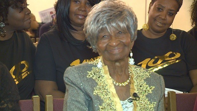 Wauleane Jatlin recently celebrated her 100th birthday. (Credit: KMOV)
