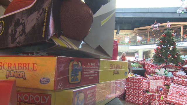 Cardinals Care is partnering with KMOV to hold their annual toy drive for military families. (Credit: KMOV).