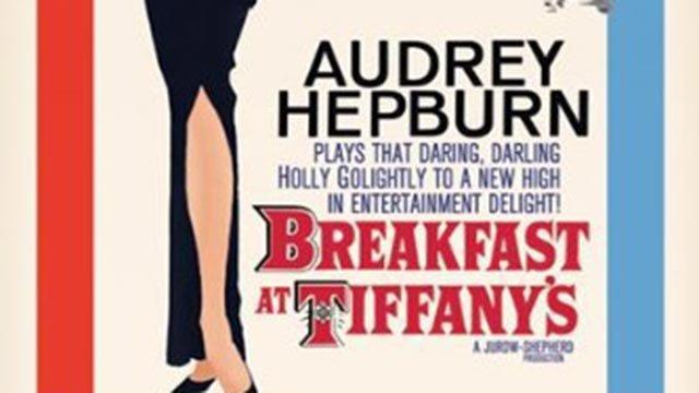 Portion of 'Breakfast at Tiffany's' movie poster (Credit: IMDB)